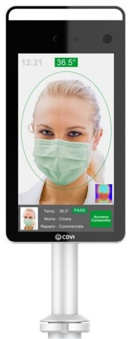 sistema-di-rilevamento-temperatura-e-riconoscimento-facciale-cdvi-ftc1000-greenp