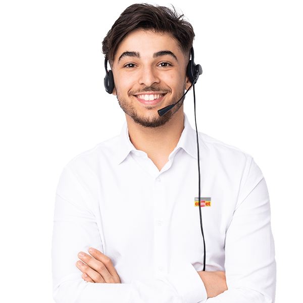 telemarketer-arabian-man-working-with-headset-isolated-white-wall-laughing